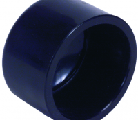 Klebekappe Dunkelgrau – Ø50mm